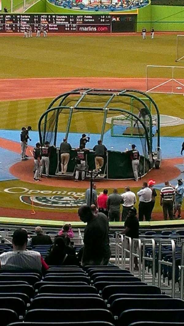 Marlins Park, section: 14, row: 25, seat: 2