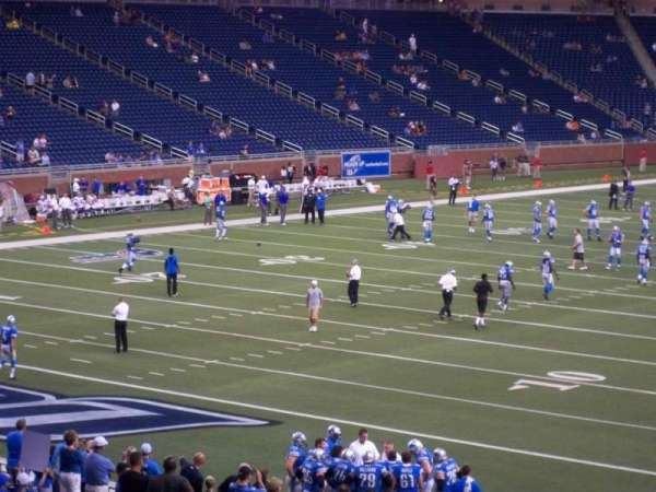Ford Field, section: 141, row: 30, seat: 23