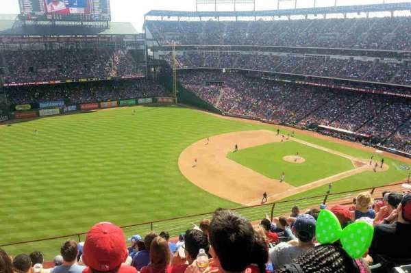 Globe Life Park in Arlington, section: 314, row: 9, seat: 10
