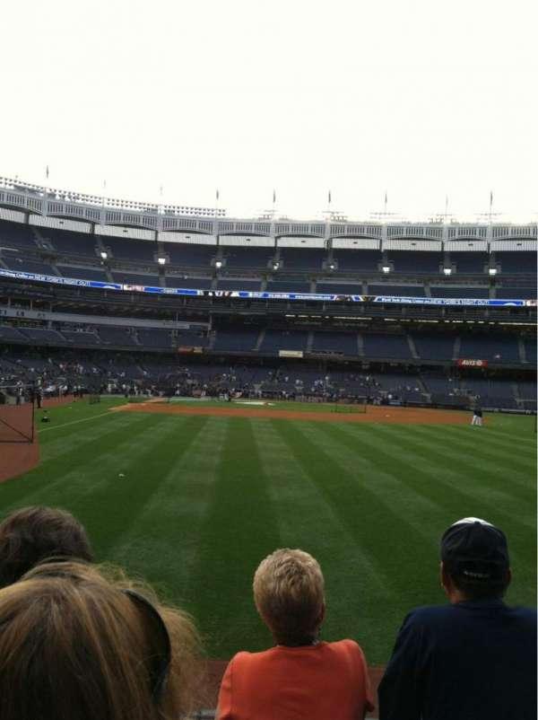 Yankee Stadium, section: 103, row: 3, seat: 5