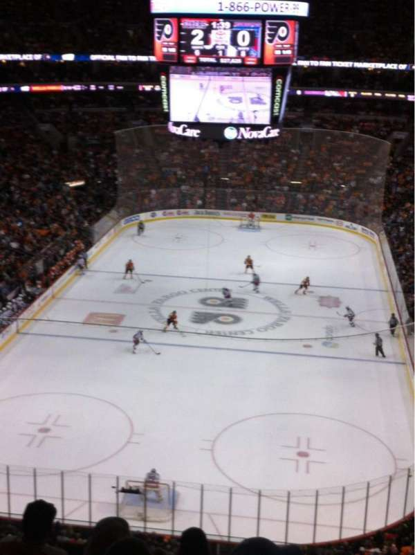 Wells Fargo Center, section: 207A, row: 7, seat: 9