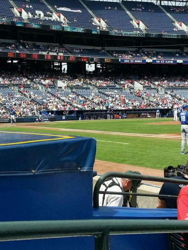 Turner Field, section: 117r, row: 4, seat: 4