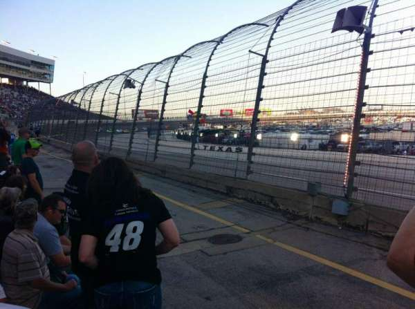Texas Motor Speedway, section: PL425, row: 2, seat: 1