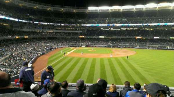 Yankee Stadium, section: 205, row: 7, seat: 18