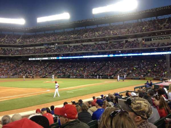 Globe Life Park in Arlington, section: 16, row: 7, seat: 13
