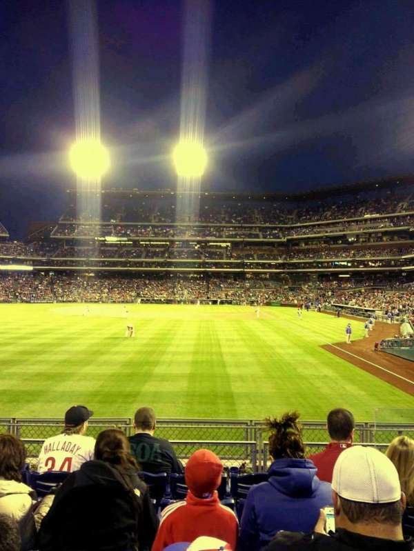 Citizens Bank Park, section: 142, row: 6, seat: 4