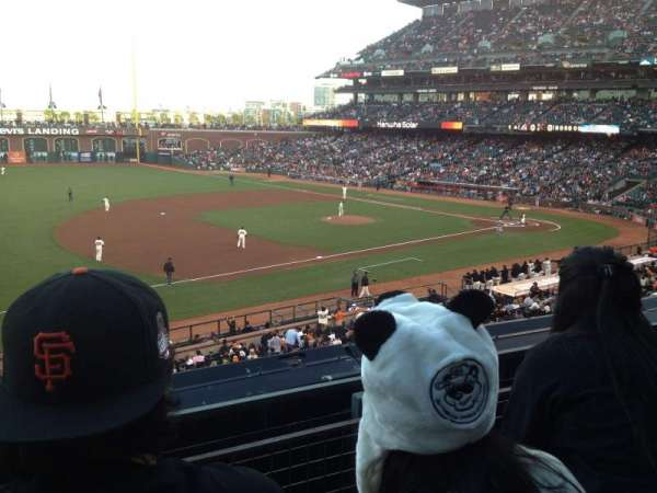 Oracle Park, section: 226, row: B, seat: 9
