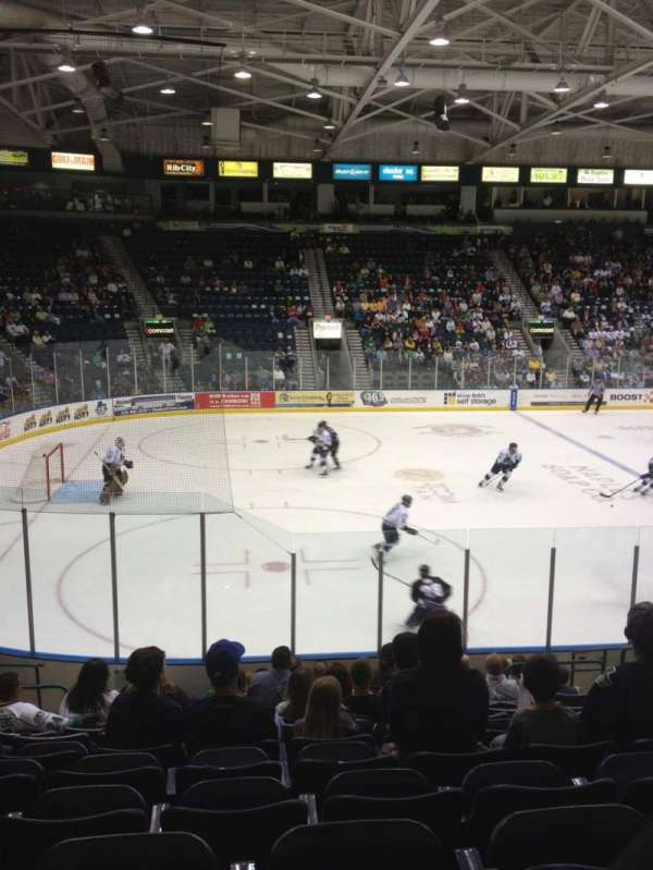 Germain Arena Section 103 Row 13 Seat 9