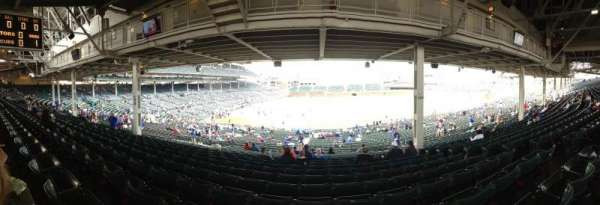 Wrigley Field, section: 228, row: 17, seat: 110
