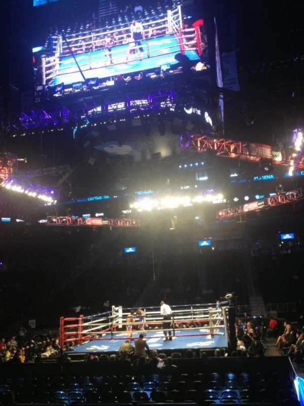Barclays Center, section: 8, row: 9, seat: 1