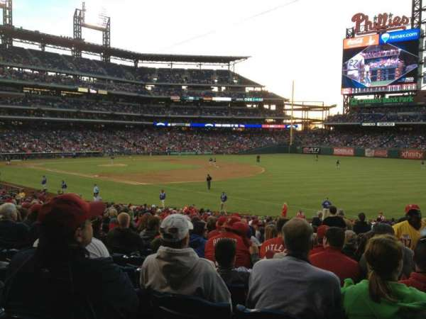 Citizens Bank Park, section: 111, row: 33, seat: 3