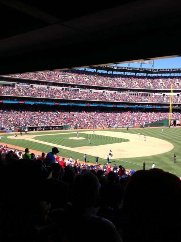 Globe Life Park in Arlington, section: 138, row: 38, seat: 7
