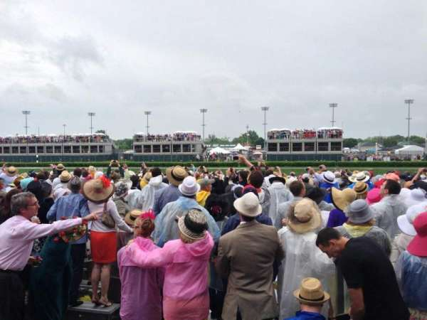 Churchill Downs, section: 124, row: R, seat: 13