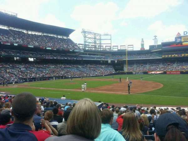 Turner Field, section: 117, row: 19, seat: 7