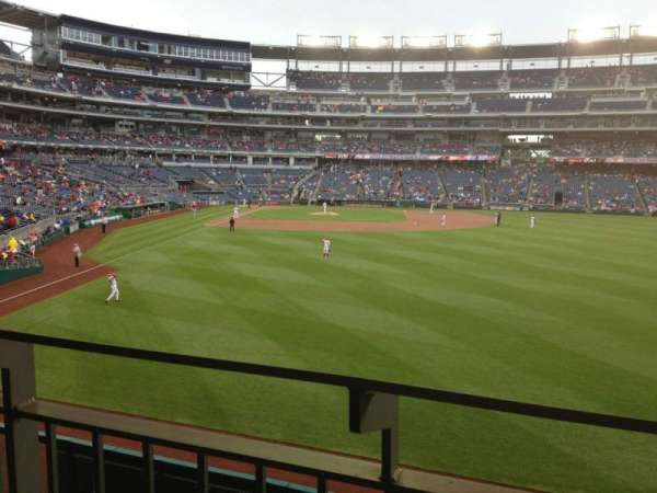 Nationals Park, section: 139, row: T, seat: 16
