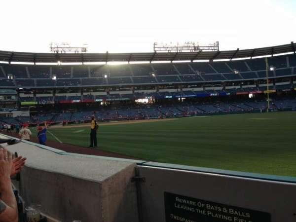 Angel Stadium, section: F133, row: A, seat: 1