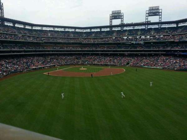 Citizens Bank Park, section: 201, row: 1