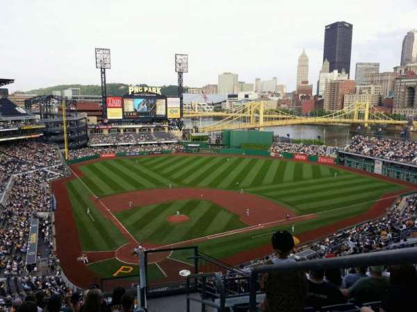 PNC Park, section: 314, row: P, seat: 1