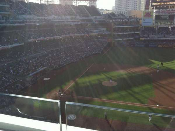 Petco Park, section: 311, row: A, seat: 7