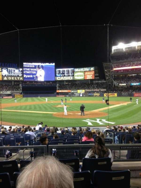 Yankee Stadium, section: 113, row: 15, seat: 4