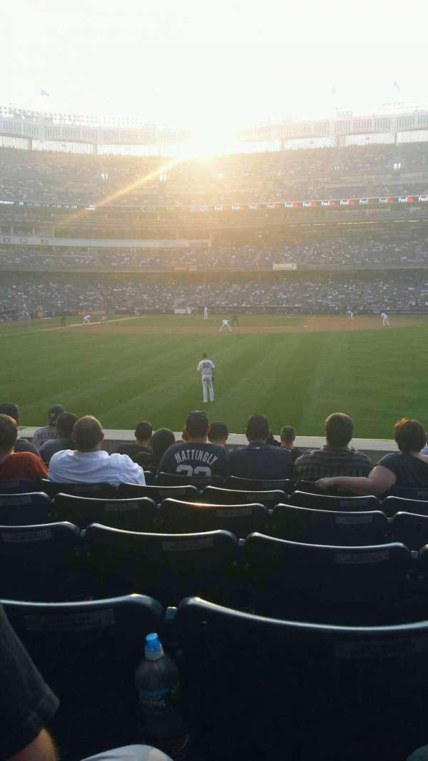 Yankee Stadium, section: 104, row: 19, seat: 15