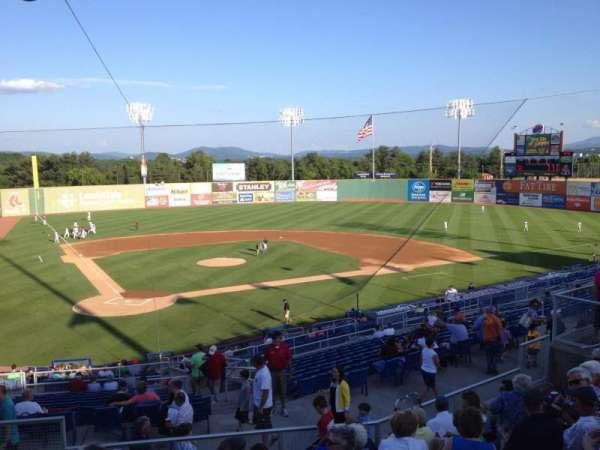 Salem Memorial Ballpark, section: General Admission