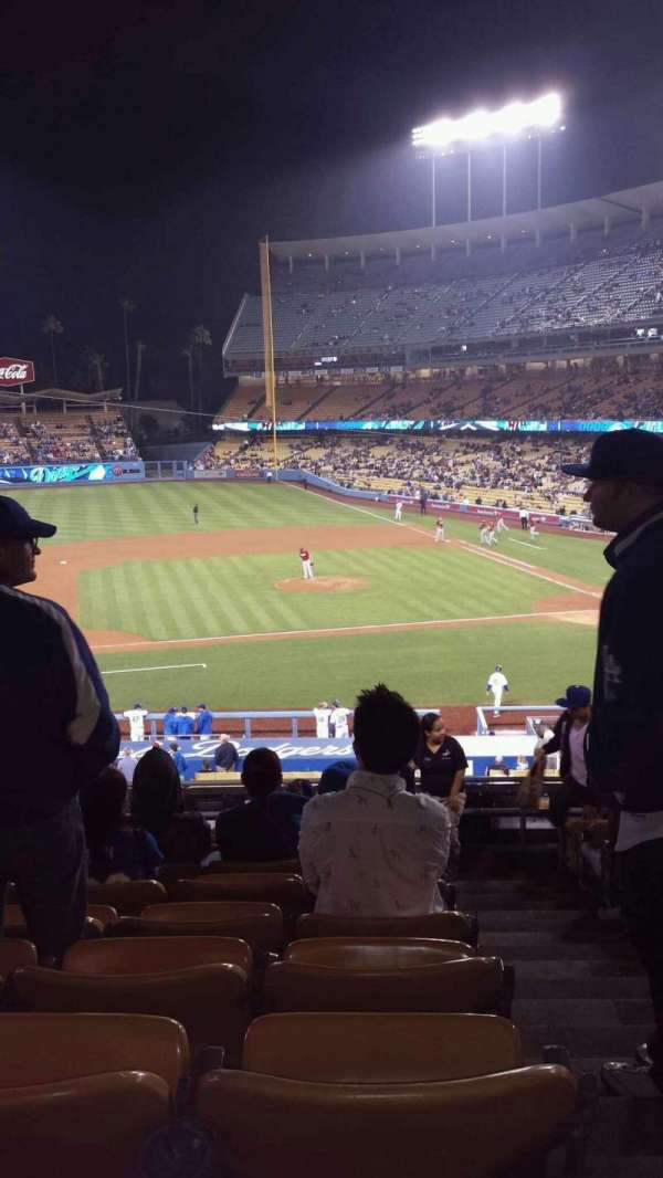 Dodger Stadium, section: 131LG, row: G