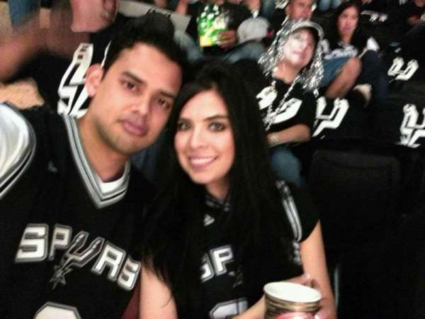 AT&T Center, section: 220, row: 4, seat: 4
