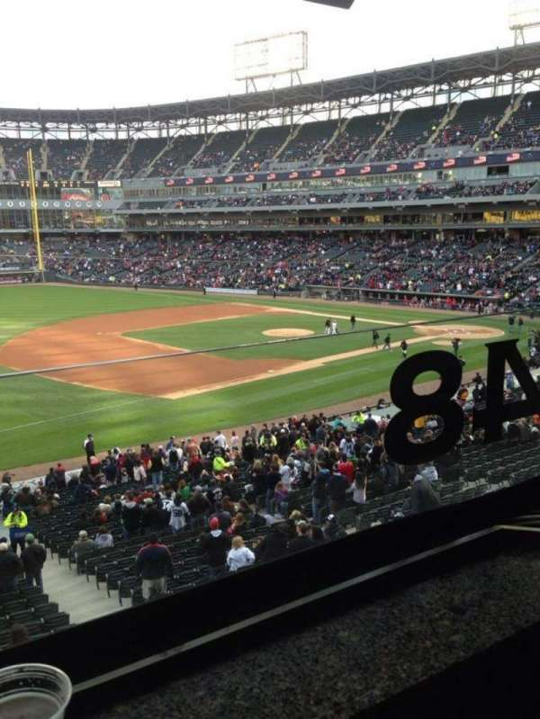Guaranteed Rate Field, section: 248, row: 1, seat: 1