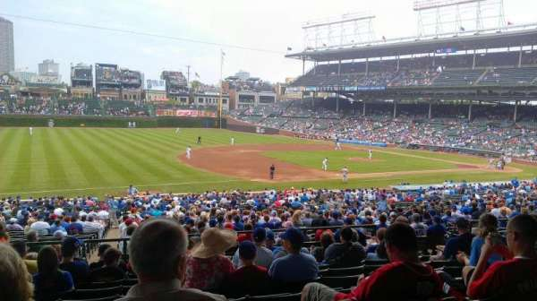Wrigley Field, section: 208, row: 9, seat: 12