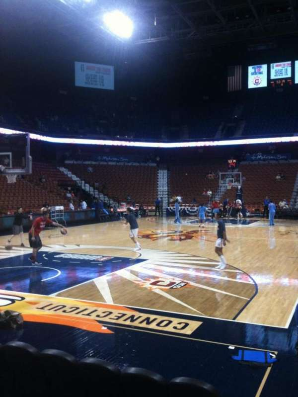Mohegan Sun Arena, section: 28, row: D, seat: 2