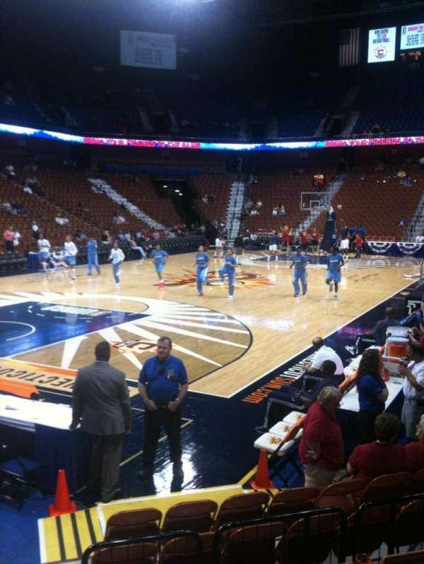 Mohegan Sun Arena, section: 18, row: G, seat: 13