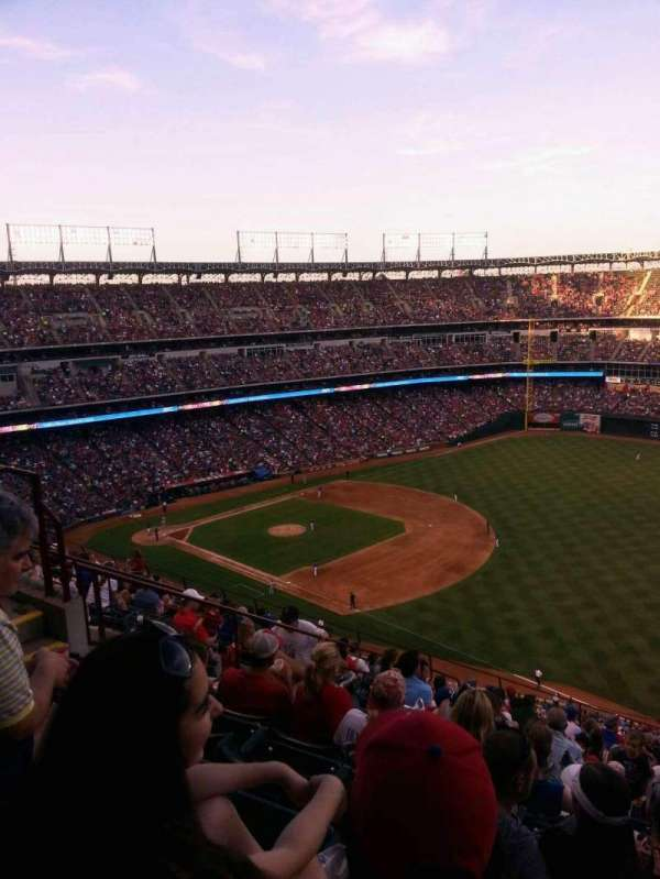 Globe Life Park in Arlington, section: 339, row: 15, seat: 11
