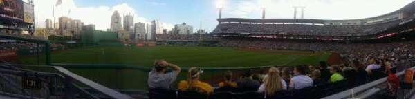 PNC Park, section: 131, row: a, seat: 17