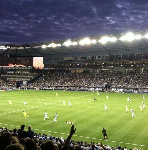 Children's Mercy Park, section: 131, row: 16, seat: 12