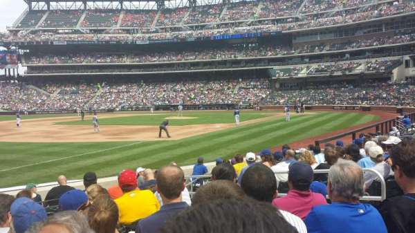 Citi Field, section: 126, row: 7, seat: 6