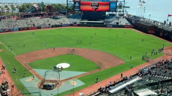AT&T Park, section: 313, row: 12, seat: 16