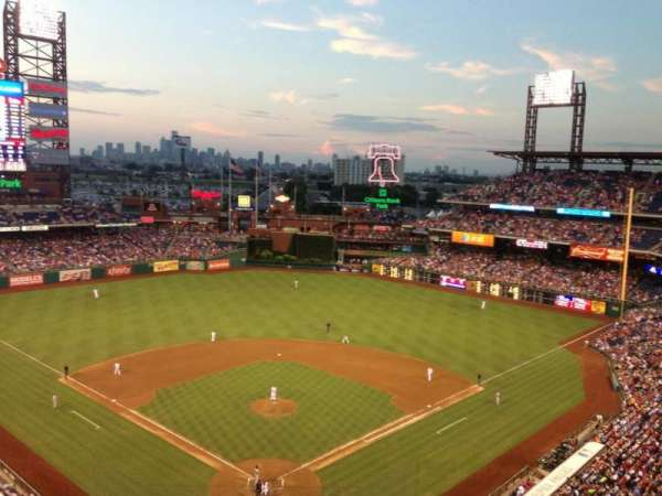 Citizens Bank park, section: 420, row: 1, seat: 21