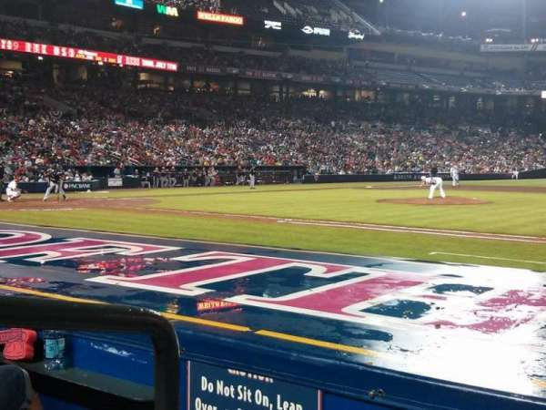Turner Field, section: 113, row: 7, seat: 1
