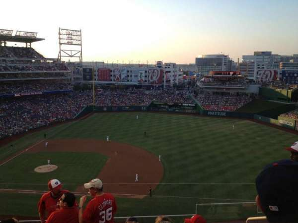 Nationals Park, section: 320, row: F, seat: 3