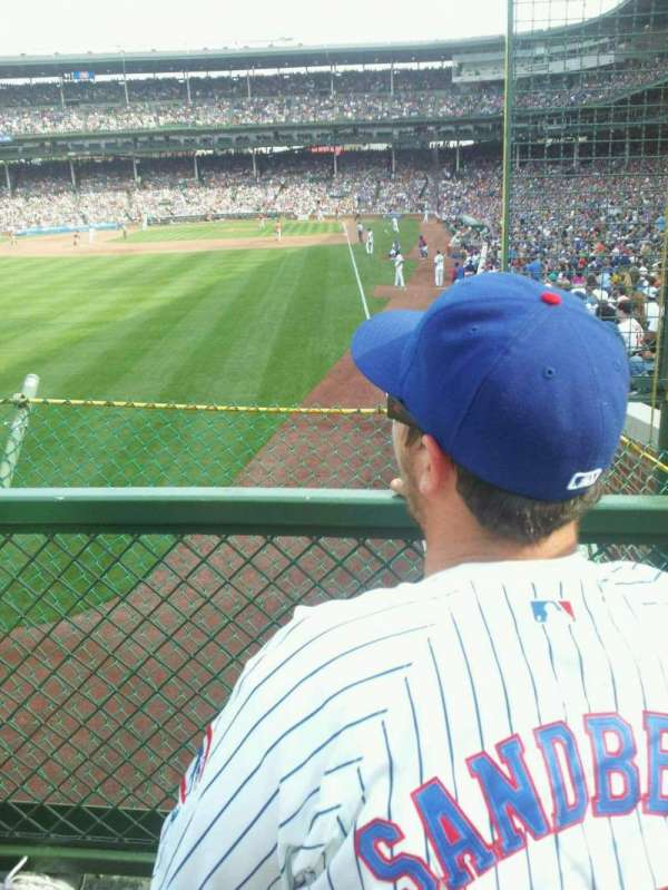 Wrigley Field, section: 501, row: 2, seat: 1