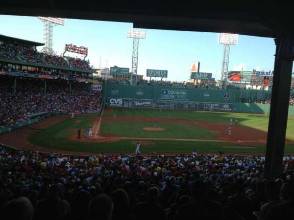 Fenway Park, section: Grandstand 17, row: 12, seat: 14