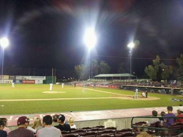 San Manuel Stadium, section: 113, row: K, seat: 10