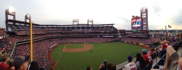 Citizens Bank Park, section: 304, row: 4, seat: 7