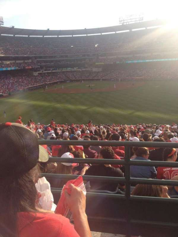 Angel Stadium, section: P247, row: B, seat: 15