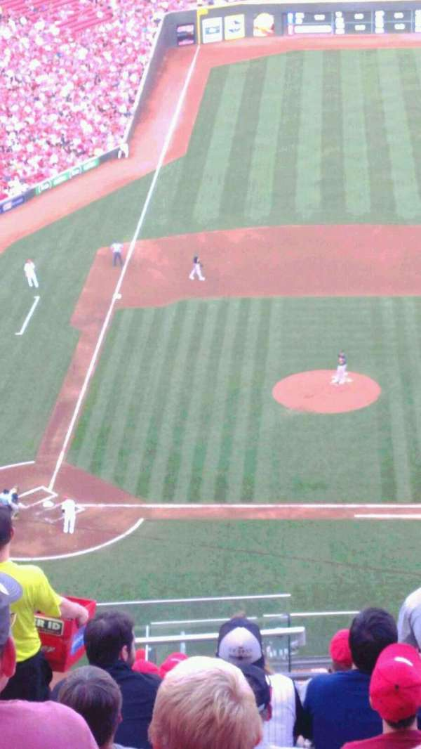 Great American Ball Park, section: 529, row: E, seat: 4