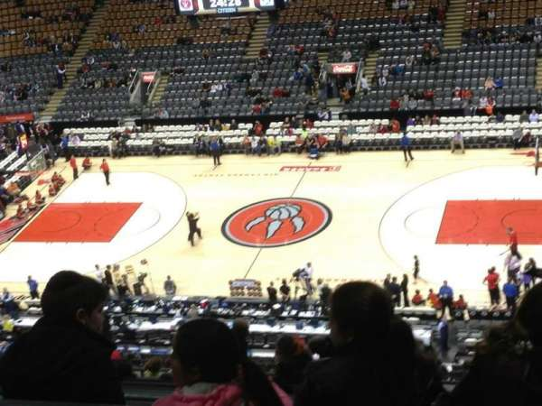 Scotiabank Arena, section: 320, row: 2, seat: 12