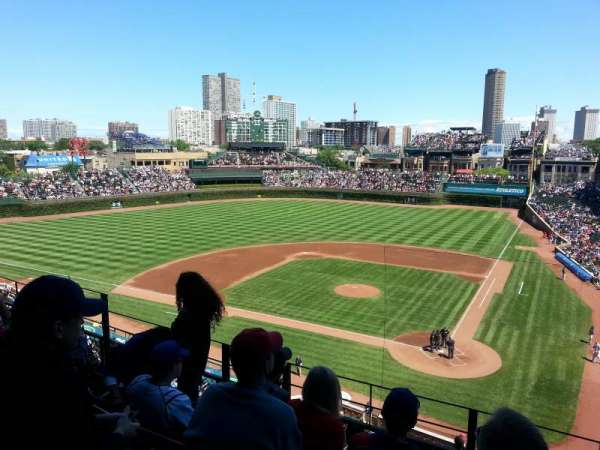 Wrigley Field, section: 314L, row: 4, seat: 7