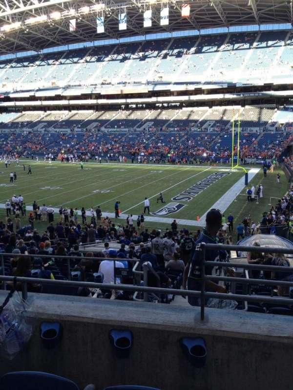 Centurylink Field, section: 230, row: C, seat: 2