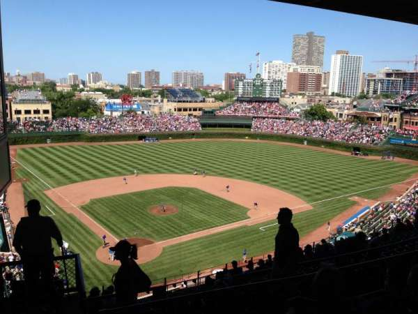 Wrigley Field, section: 420R, row: 4, seat: 1